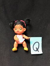 "Kenner Baby Buddies Girl Figure Toy 2.5"" 1994"
