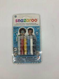 Snazaroo Kids Facepaint - 1 pack of 6*