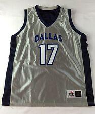Dallas Women's Basketball Practice Jersey Sz L - Alleson Athletic - Reversible