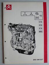 Officina Manuale CITROEN Motore bre 098927-c1a, h1a, k1a, m4a, 4.1987, 68 pag.