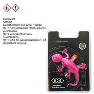 ORIGINAL Audi Duftgecko pink A1 A3 A4 RS3 RS RS6 RS7 Q7 000087009AC