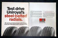 Life Magazine Ad UNIROYAL Tires 1972 Ad