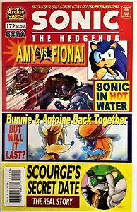 SONIC The HEDGEHOG Comic Book #172 April 2007 First Edit Bagged & Boarded NM