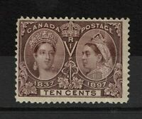 Canada SC# 57, Mint Hinged, Hinge Remnants, some gum creasing - S11378
