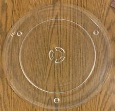 "Sharp A046 AO46 Microwave Turntable Glass Plate Tray 12-3/4"" Pat No. 4036151"