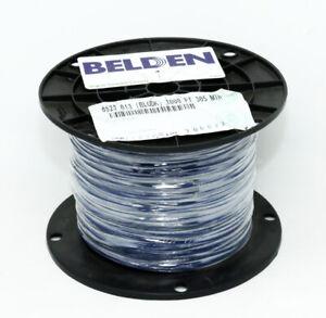 8523-013 1000' feet Blue BELDEN 20 AWG PVC Hook Up Wire Stranded 1000 Volt
