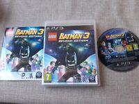 LEGO BATMAN 3 DC BEYOND GOTHAM PS3 PLAYSTATION 3 PREOWNED