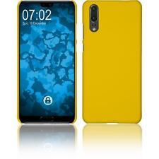 Funda Rígida Huawei P20 - goma amarillo Case