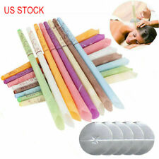 16PCS Scented Beeswax Ear-Wax  Candle Cleaning Cone Hollow Candle Wax US Stock