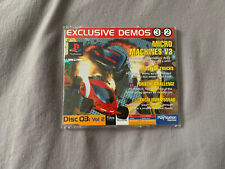 Official UK Playstation One Demo Game Disc 3 Vol 2 Exclusive PAL PS1 Rare Retro