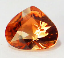 OREGON SUNSTONE INTENCE ORANGE PEACH WITH RASPBERRY FLASHES 2.81 CT SEE VIDEO