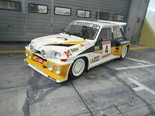 RENAULT 5 Maxi Turbo Rallye Asturias Spain #4 Sainz Gr.B Valeo IXO Altaya 1:18