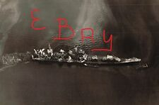 WWII RARE UNP PHOTOGRAPH 8X10 AERIAL OVER SUNKEN JAPANESE SHIP CA TONE LOOK