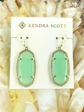 Chalcedony Gold tone Earrings New Kendra Scott Elle