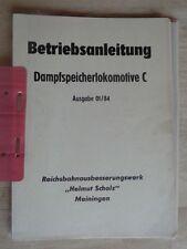 Original Operating Instructions Fireless C, Type Flc, Raw Meiningen, Rarity