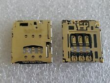 Original SIM Slot Sim Cards Contacts Reader Pin Connector for BlackBerry Z30