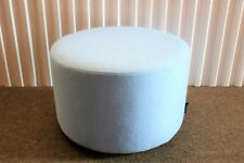 Steelcase Campfire Ottoman in Blue Jay Upholstery, Modern Style