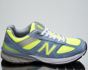New Balance 990 Made In USA Women's Grey Hi Lite Lifestyle Shoes Casual Sneakers