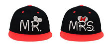 Mr & Mrs, Couple Matching, Embroidered Snapback Hats