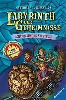 Labyrinth der Geheimnisse 1: Achterbahn ins Abenteuer vo...   Buch   Zustand gut