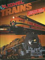 Lionel Trains 1992 Catalog Book One Model Railroad
