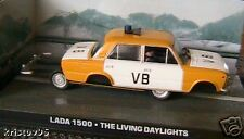 DIORAMA LADA 1500 JAMES BOND 007 THE LIVING DAYLIGHTS