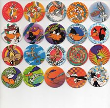 LOONEY TUNES Complete 60 Tazos Pogs GREAT CONDITION HARD TO FIND Toys Collection