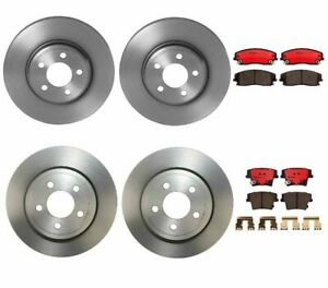 Brembo Front Rear Std Brake Kit 320mm Rotors Ceramic Pads For 300 Charger Magnum
