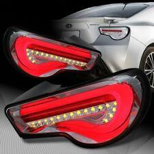 For 2013-2019 Scion FRS FT86 Subaru BRZ DRL Chrome Housing LED Tail Lights Lamp