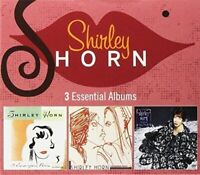 SHIRLEY HORN - 3 ESSENTIAL ALBUMS NEW CD