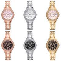 Luxury Fashion Women Ladies Watch Quartz Bracelet Crystal Rhinestone Wrist Watch