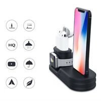 For Apple Watch For AirPod For iPhone 3 in1 Charging Dock Station Holder Stand