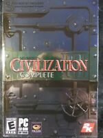 Sid Meier's Civilization III: Complete (PC, 2004) BRAND NEW SEALED