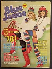 More details for blue jeans magazine 7 january 1978 - the clash centrefold - punk/new wave