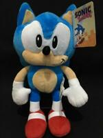 "SEGA SONIC THE HEDGEHOG SOFT PLUSH TOY - 12"" 30CM - LICENCED - BRAND NEW -"