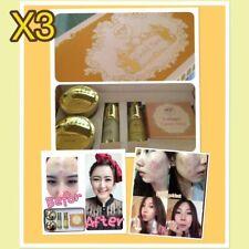 5pcs Freshy face Gold Set acne&blemish treatments whitening brightening+Tracking
