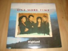 """ONE MORE TIME -HIGHLAND  [PWL 7"""") RARE  SWEDISH INDIE"""