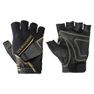 Daiwa DG-11009TW Winter Fishing Gloves Tournament Titanium Black Japan Tracking