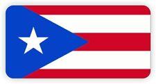 Puerto Rico Hard Hat Sticker | Motorcycle Helmet Decal | Rican Welding Label