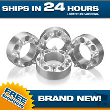 4 Hubcentric Wheel Spacers Adapters 6 lug 6x5.5 Toyota Tacoma Tundra 4Runner 2""