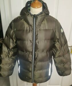 Boys NEXT Connected Without Limits reflective Puffer Style Jacket Age 11 Years