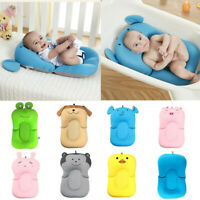 Newborn Baby Babies Bath Pad Non-Slip Bathtub Shower Portable Air Cushion Bed