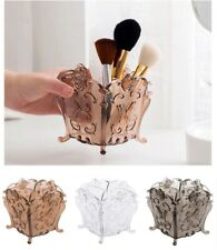 Cosmetic Storage Box Makeup Brush Lipstick Plastic Holders Desktop Organizer Bin