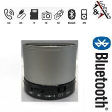 Mini Bluetooth Lautsprecher Speaker Box Tragbar Mikrofon Musik Radio Handy Silbr