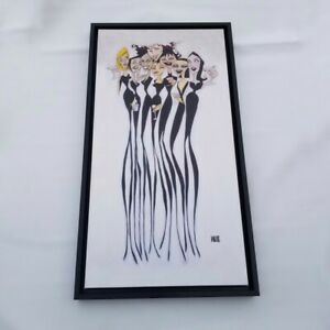 Todd White Girl Party Signed Print on Canvas Framed Art 30 x 40