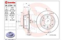 2x BREMBO Discos de Freno Traseros Ventilado 290mm 09.5784.10