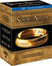 EL SEÑOR DE LOS ANILLOS TRILOGÍA BLU-RAY NUEVO
