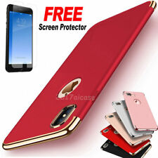 For iPhone 6 8 7 6S Plus X Shockproof Luxury Thin Hybrid Slim Hard Case Cover