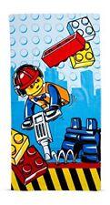 Lego City construction Serviette de Plage - Enfants 100 Cotton