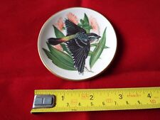 FRANKLIN PORCELAIN SONGBIRDS OF THE WORLD MINI PLATE. #4